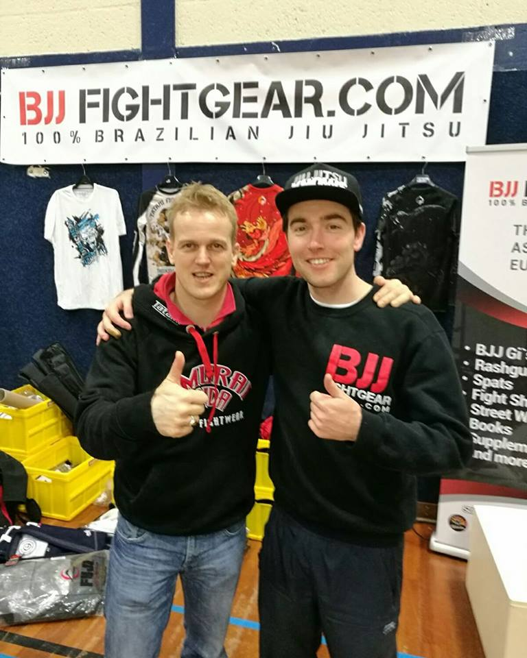 Machiel owner at F1T and BJJNinja`s & Micha owner at BJJFightgear & 24-7 Fightgear co-work as partners on the events and seminars