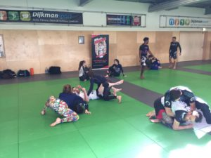 200m2 of great open mat space in a beautiful dojo