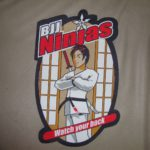 The first 20 signups will get a big BJJNinja`s Patch - 31x31cm you can put on the back of your Gi