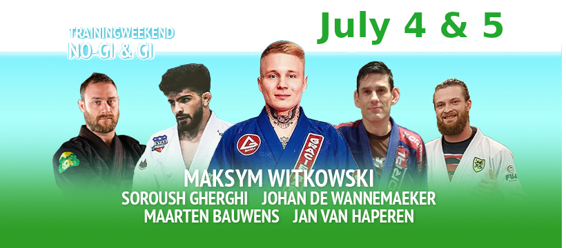 DUE TO THE CORONA VIRUS WE HAVE POSTPONED OUR TRAININGWEEKEND, AND RESCHEDULED IT TO JULY 4 – 5. IN RESERVATION OF COURSE ON WHAT THE RIVM AND THE DUTCH GOVERNMENT WILL SAY